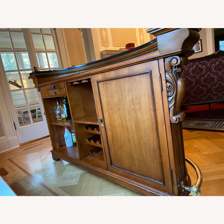 Wooden Bar, Granite Top - image-5