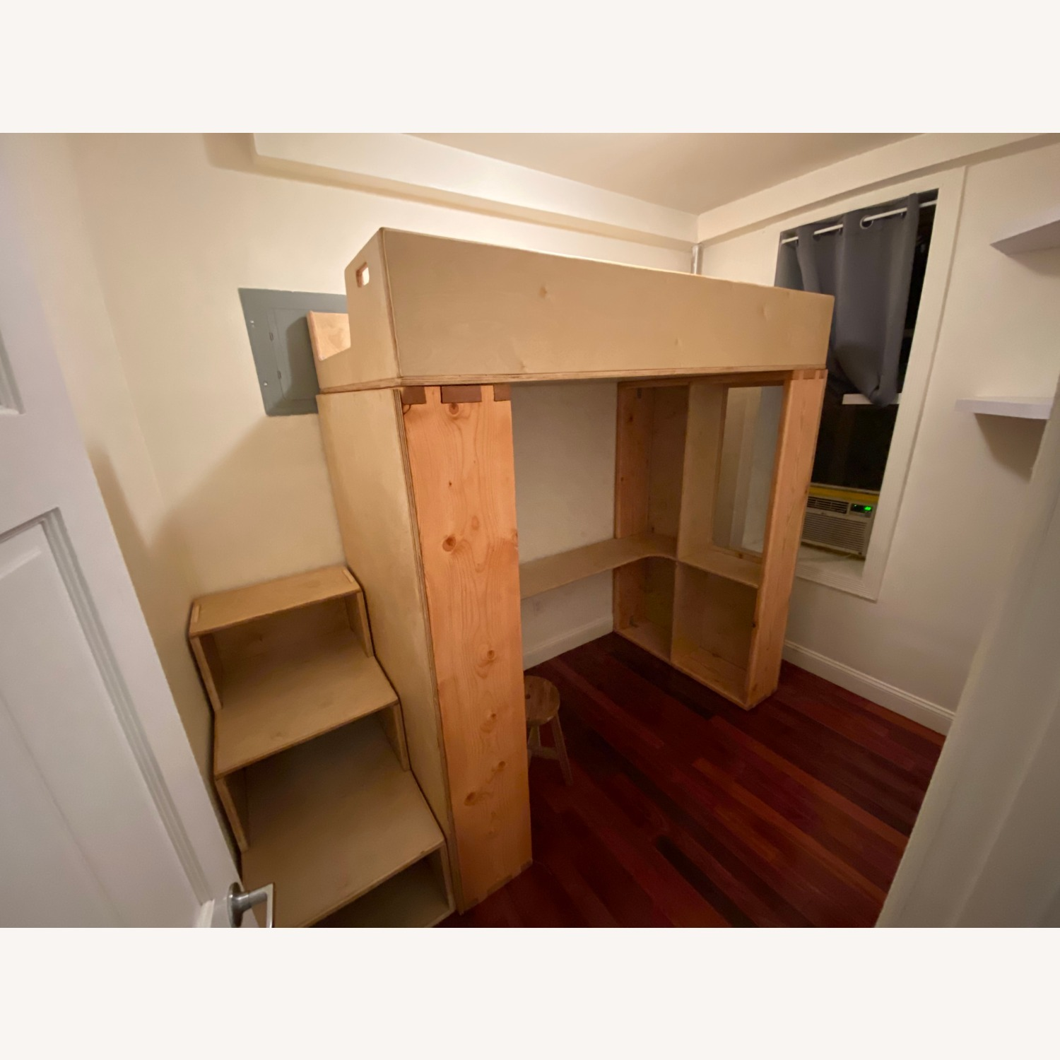 Twin Loft with Built-In Desk & Staircase Dresser - image-6