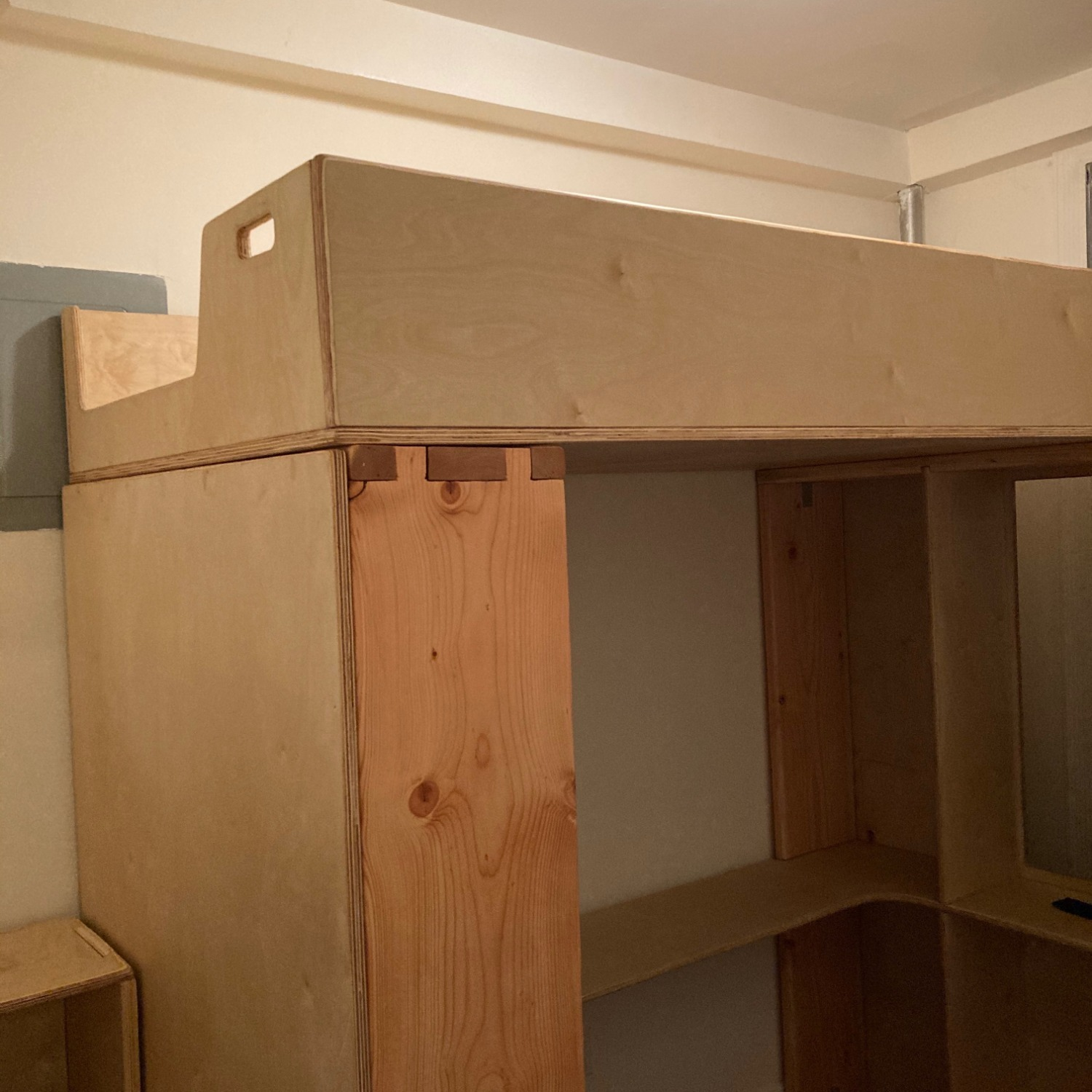 Twin Loft with Built-In Desk & Staircase Dresser - image-7