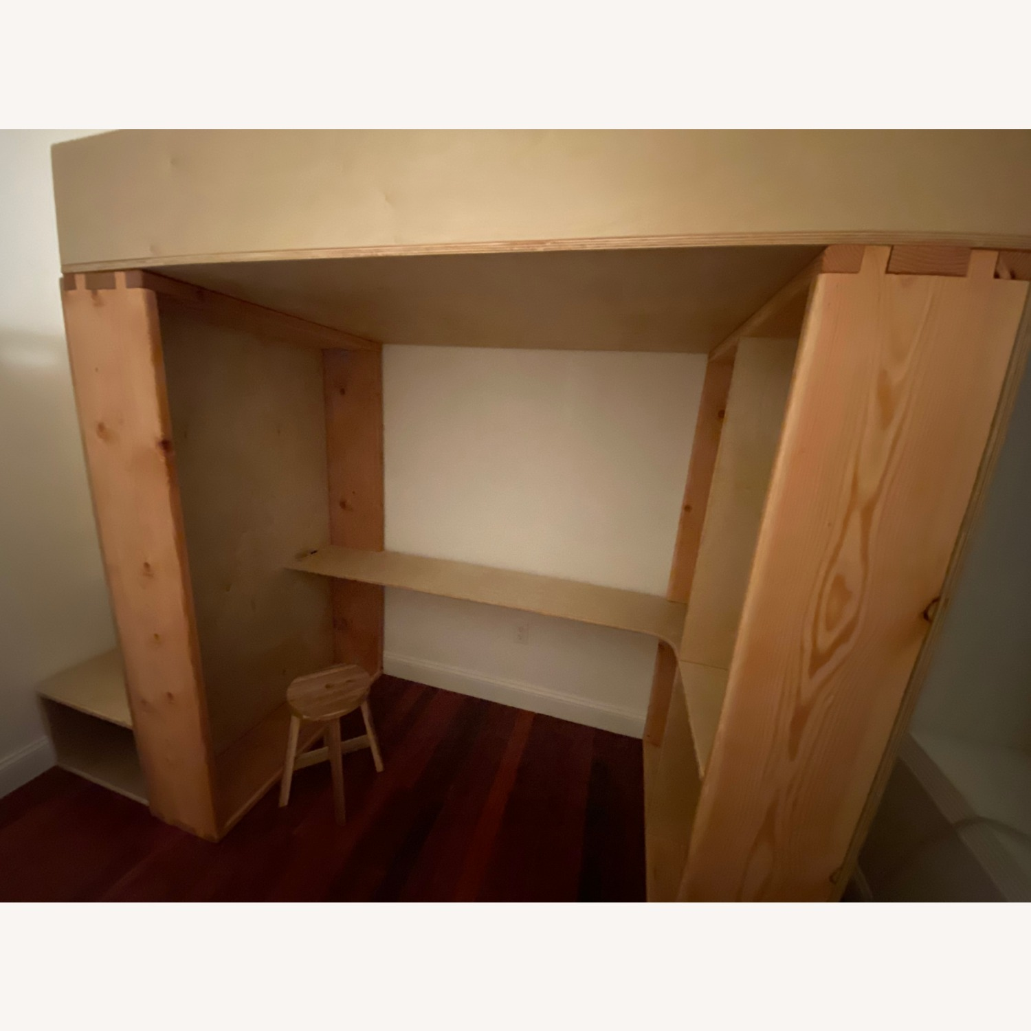 Twin Loft with Built-In Desk & Staircase Dresser - image-2
