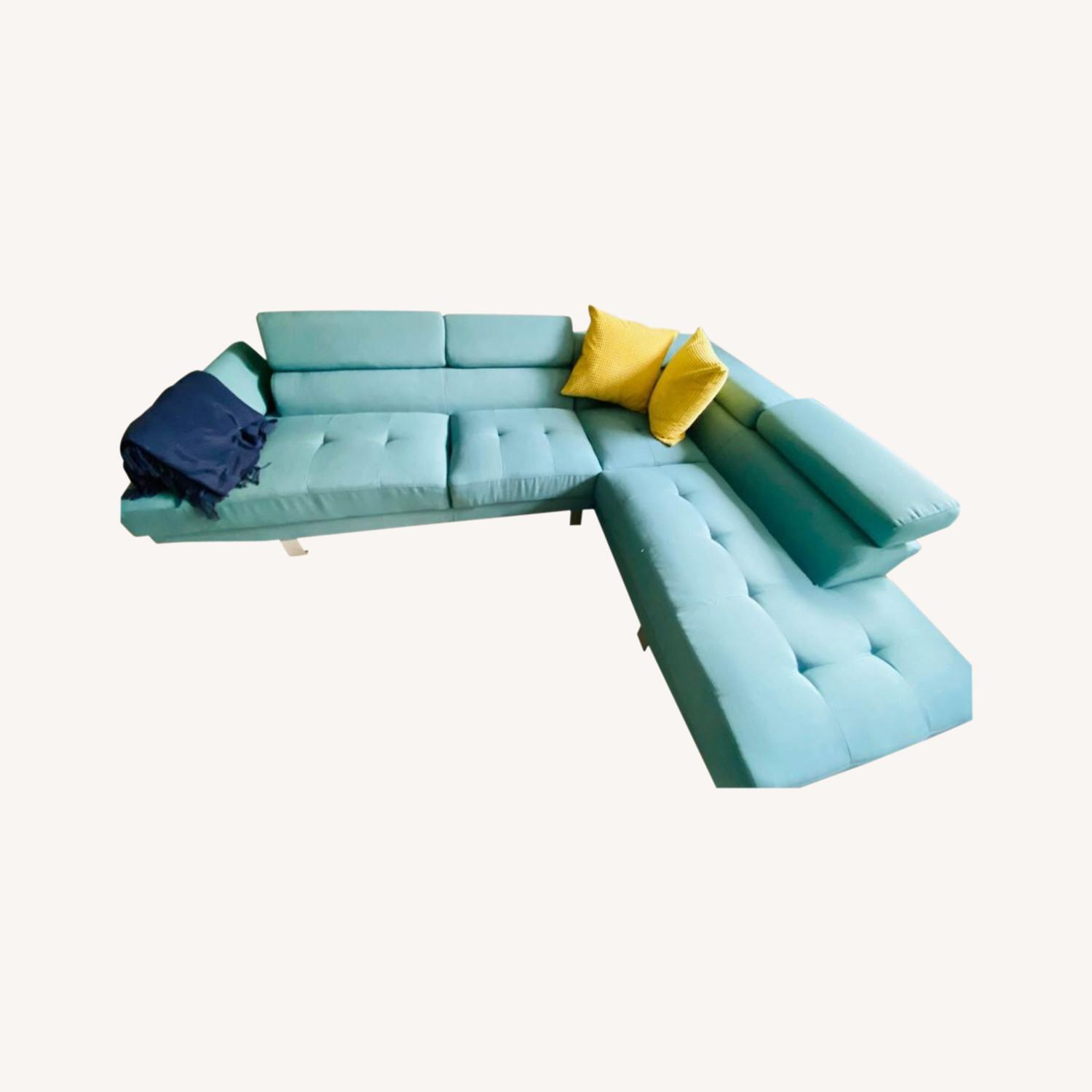 Wayfair Sectional Couch - image-0