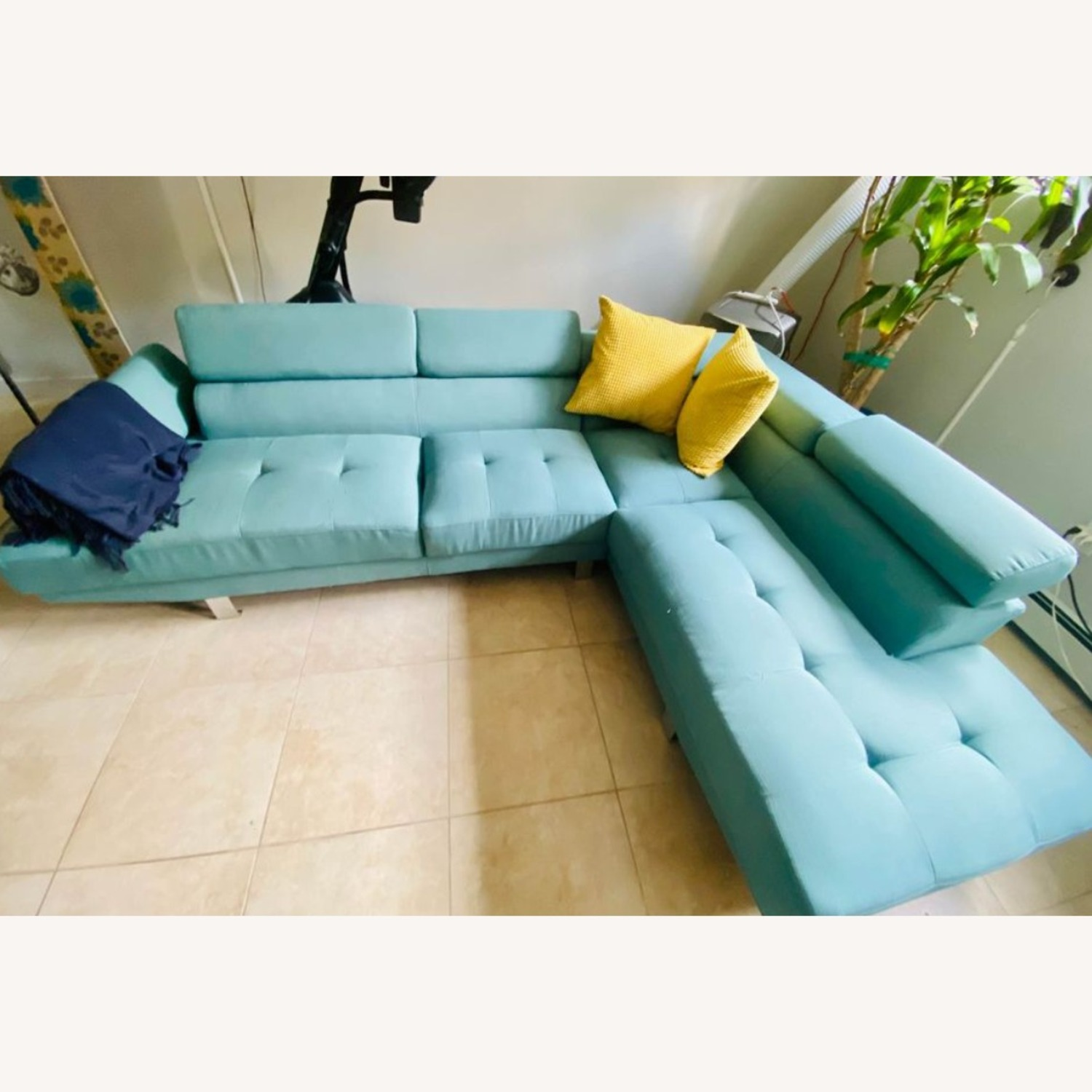 Wayfair Sectional Couch - image-1