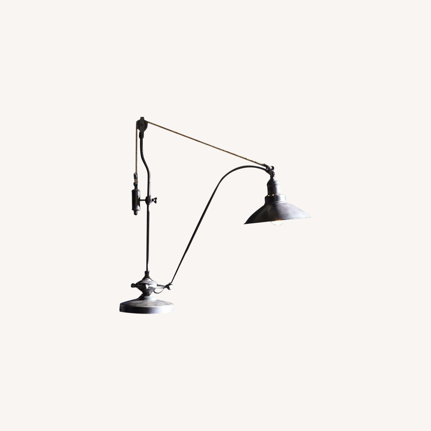 Pottery Barn Glendale Pulley Task Table Lamp - image-0