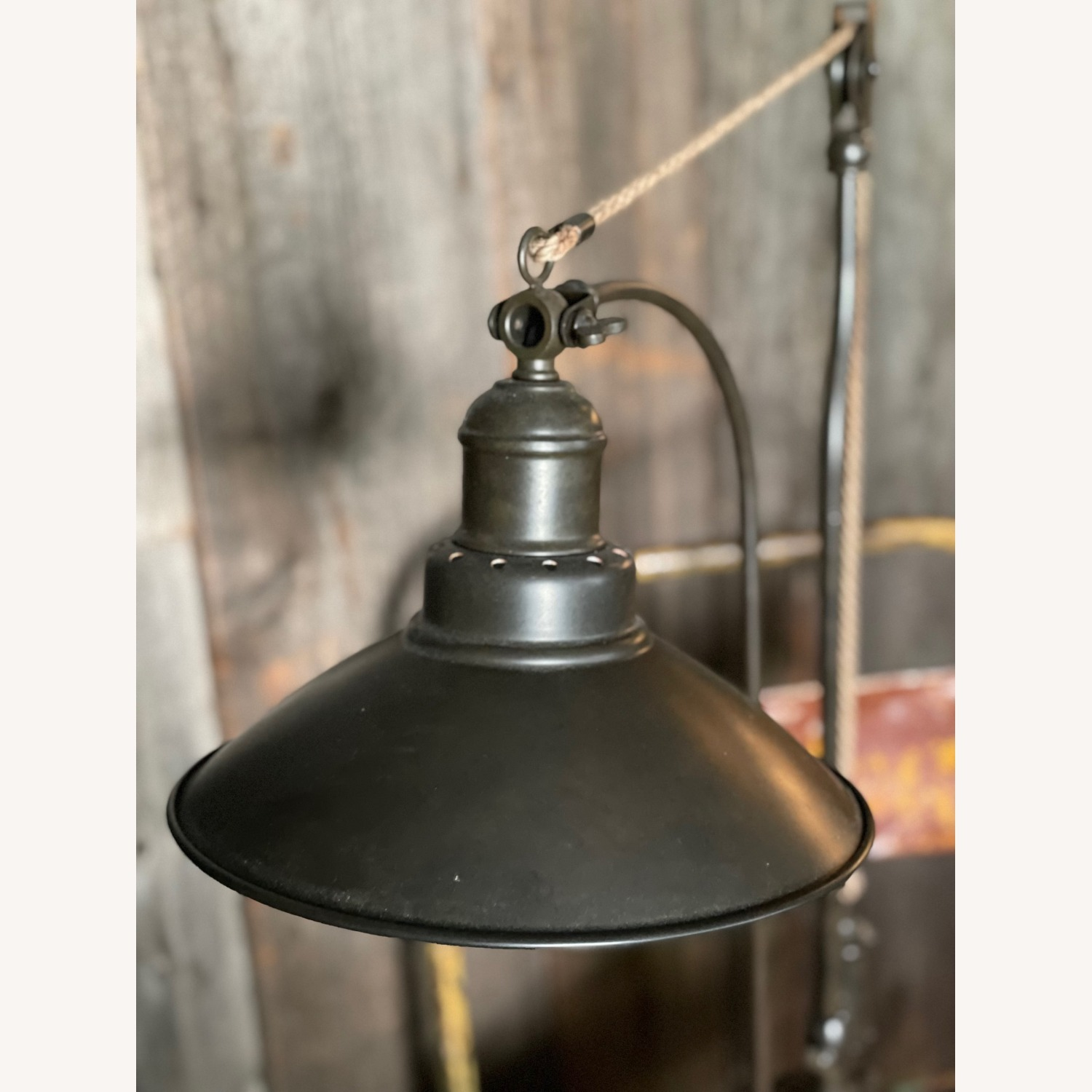 Pottery Barn Glendale Pulley Task Table Lamp - image-8