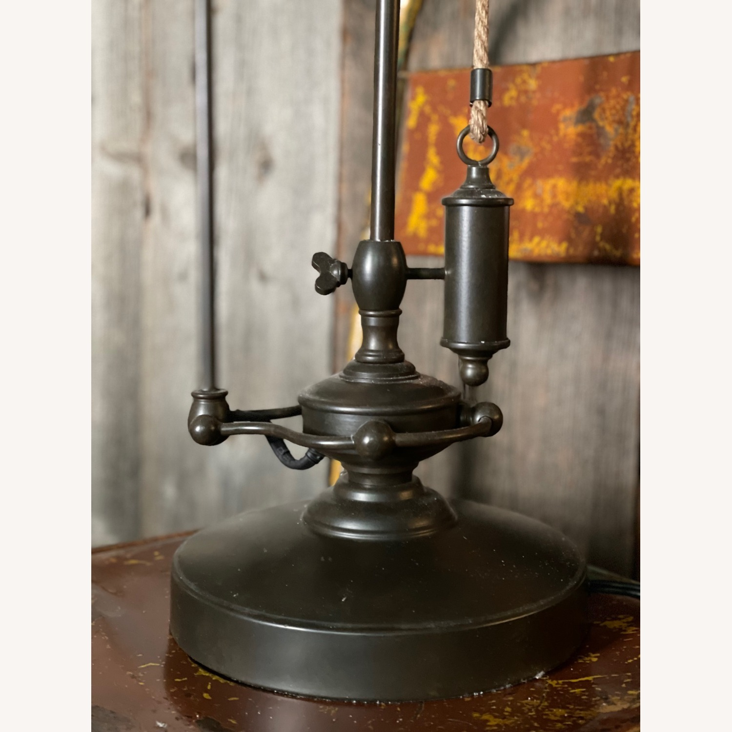 Pottery Barn Glendale Pulley Task Table Lamp - image-10