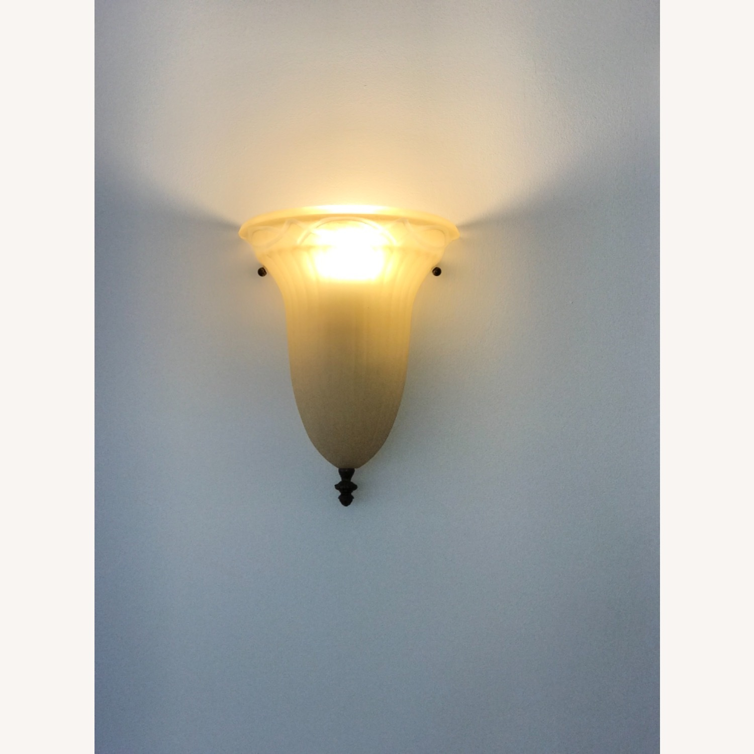 Glass Bronze Wall Sconces - image-3
