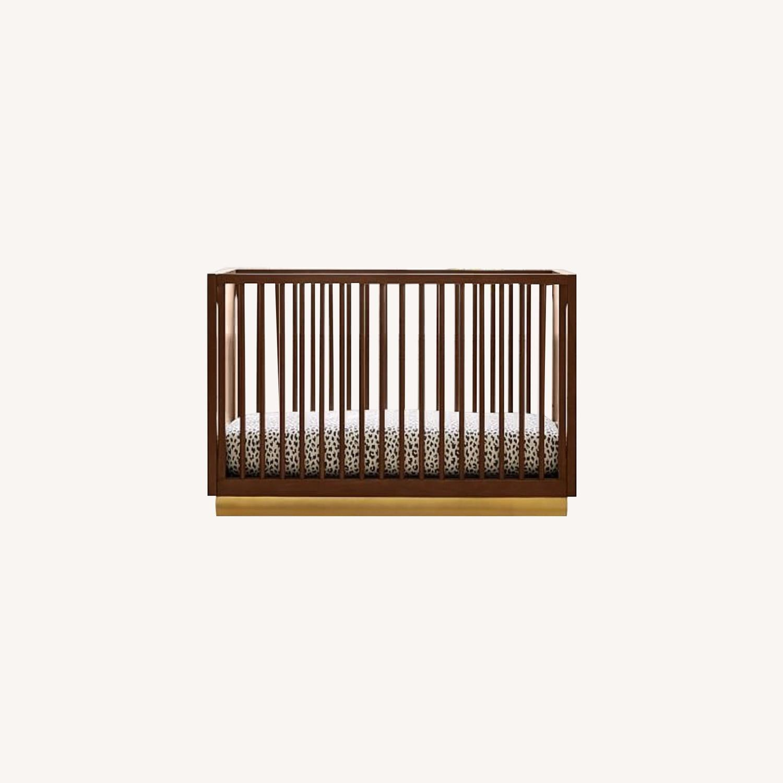 West Elm Acacia Convertible Crib - image-0