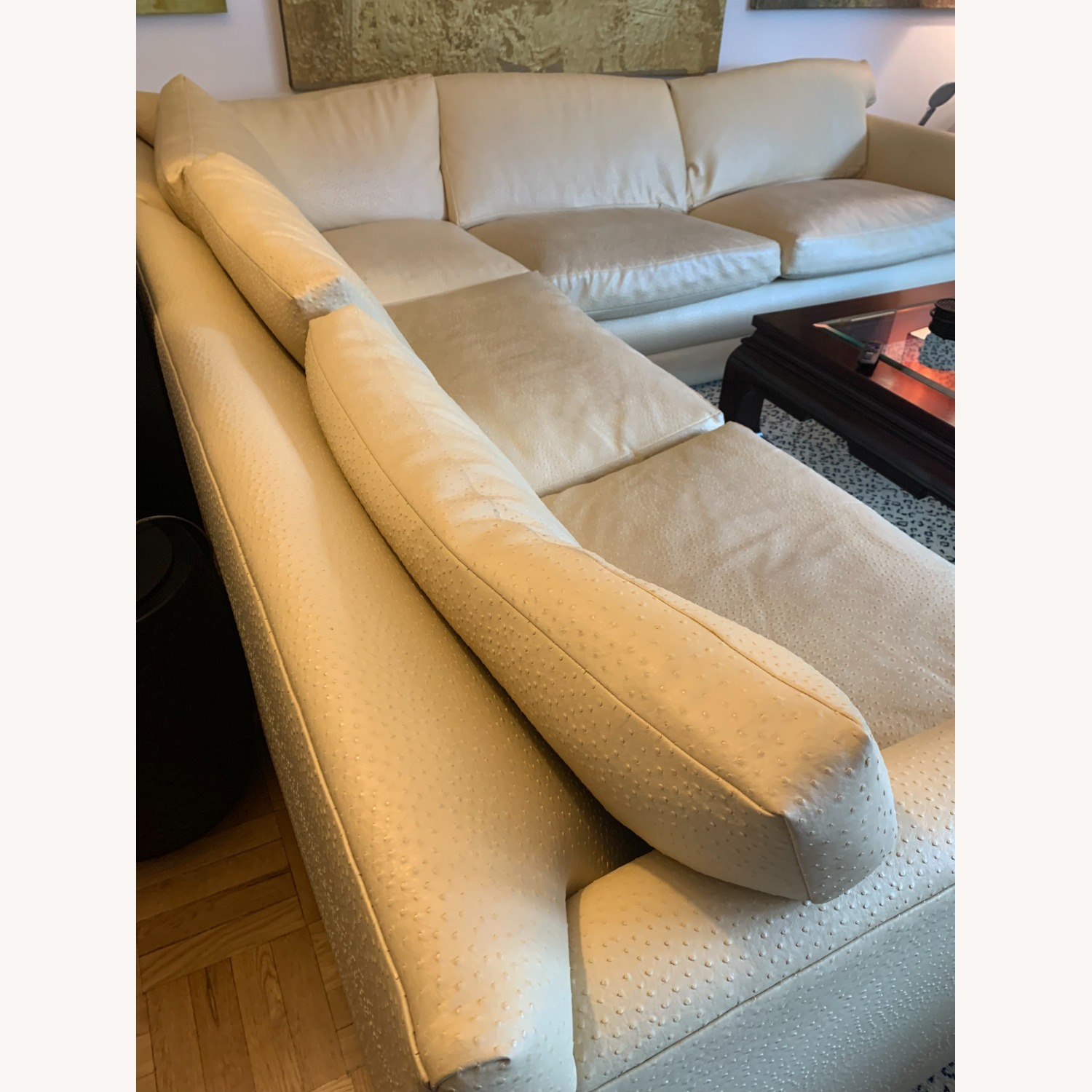 Sectional Sofa With Queen-Size Bed - image-2