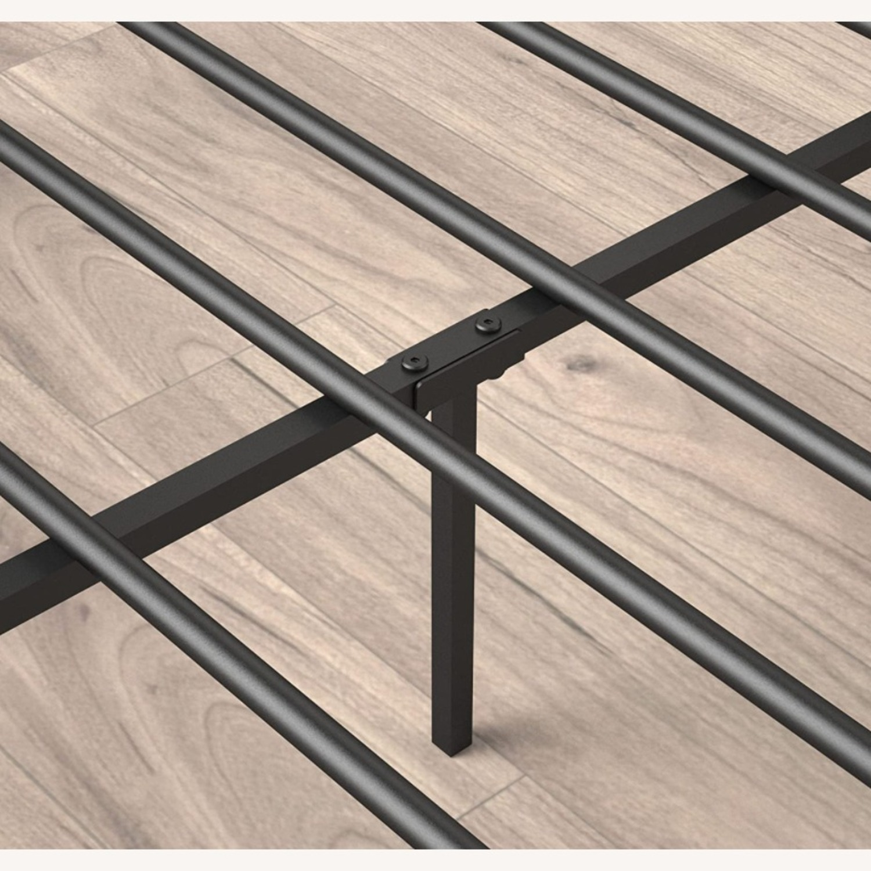 Zinus Cherie Faux Leather Metal Platform Bed Frame - image-5