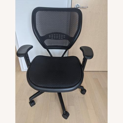 Used Office Star Latte AirGrid Task Chair for sale on AptDeco