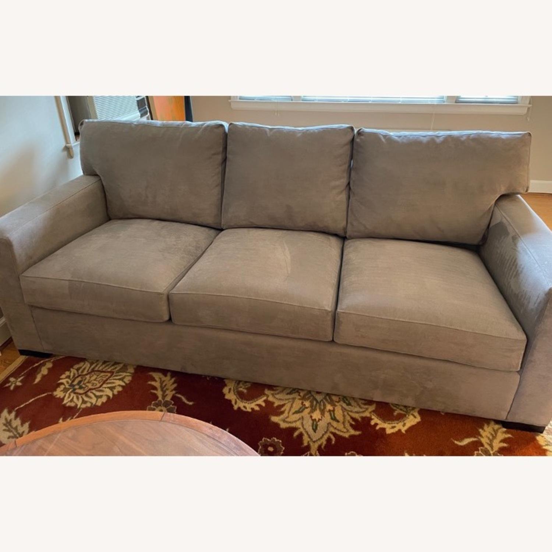 Crate & Barrel Axis II Queen Sleeper Sofa - image-1