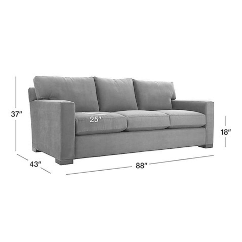 Crate & Barrel Axis II Queen Sleeper Sofa - image-3