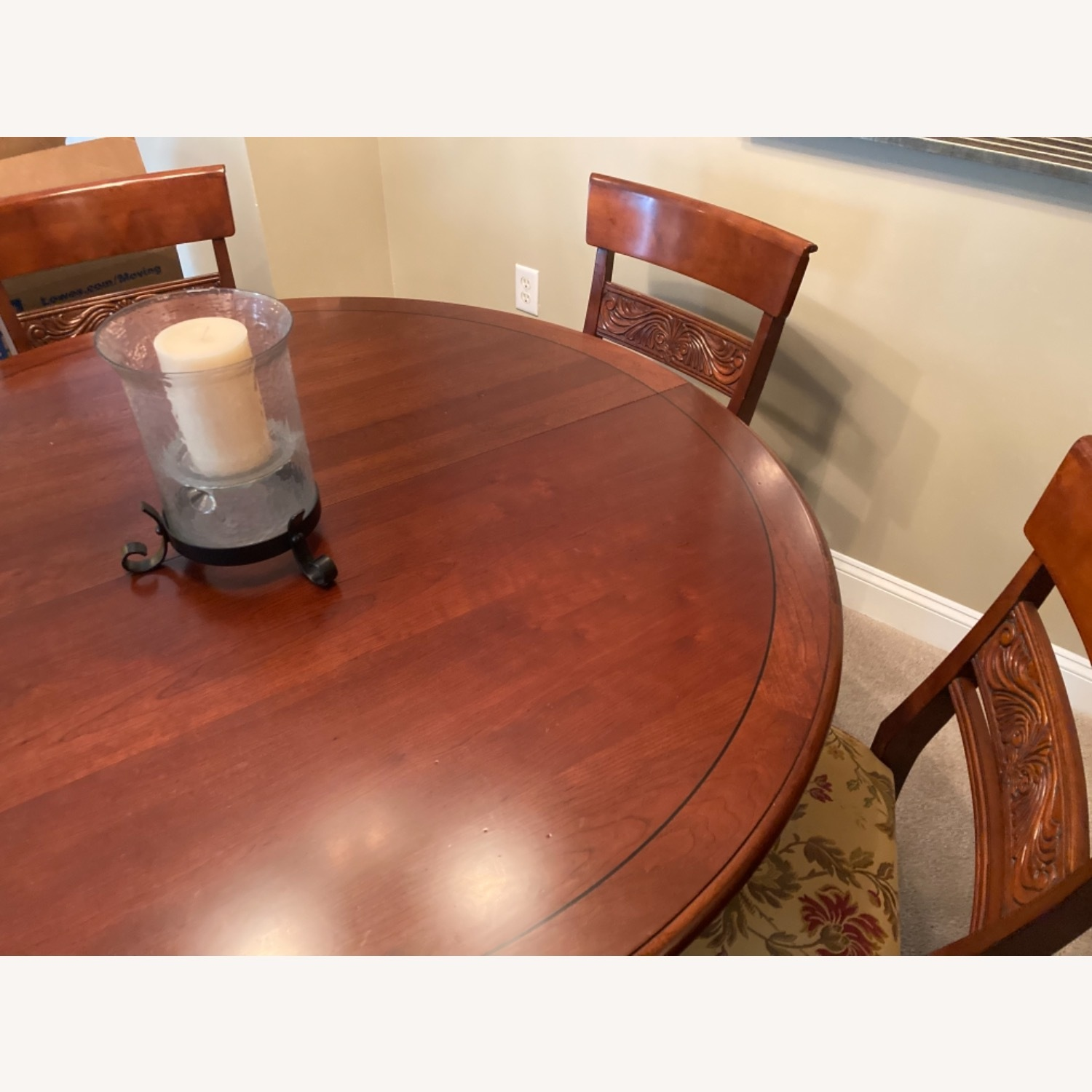 Ethan Allen Dining Room Table With 5 Chairs - image-2