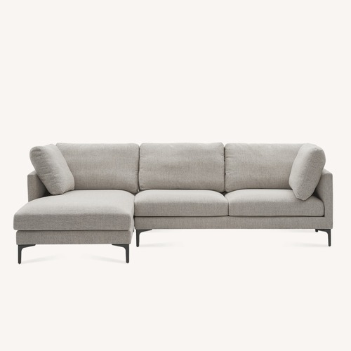 Used Castlery Adams Chaise Sectional Sofa Left Facing for sale on AptDeco