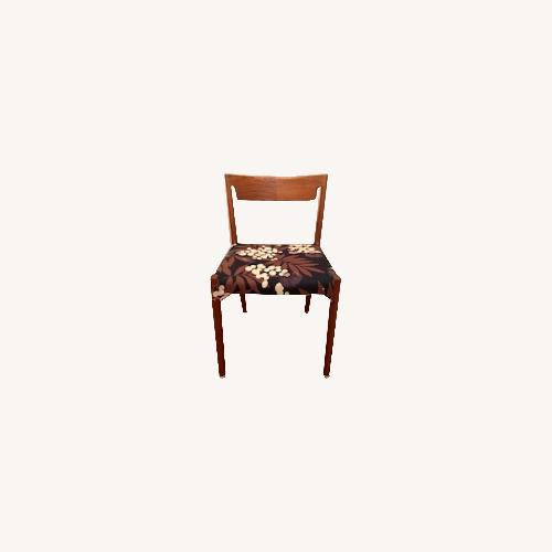Used 1960's Vintage Danish Modern Teak Dining Chairs for sale on AptDeco