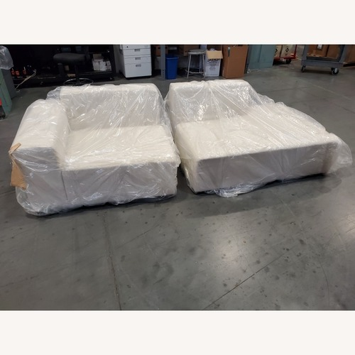 Used Floyd The Sectional / Left End / Off-White for sale on AptDeco
