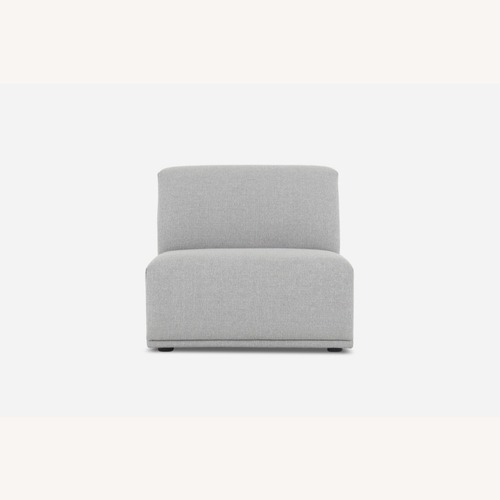 Used Castlery Todd Armless Sofa, Light Gray for sale on AptDeco