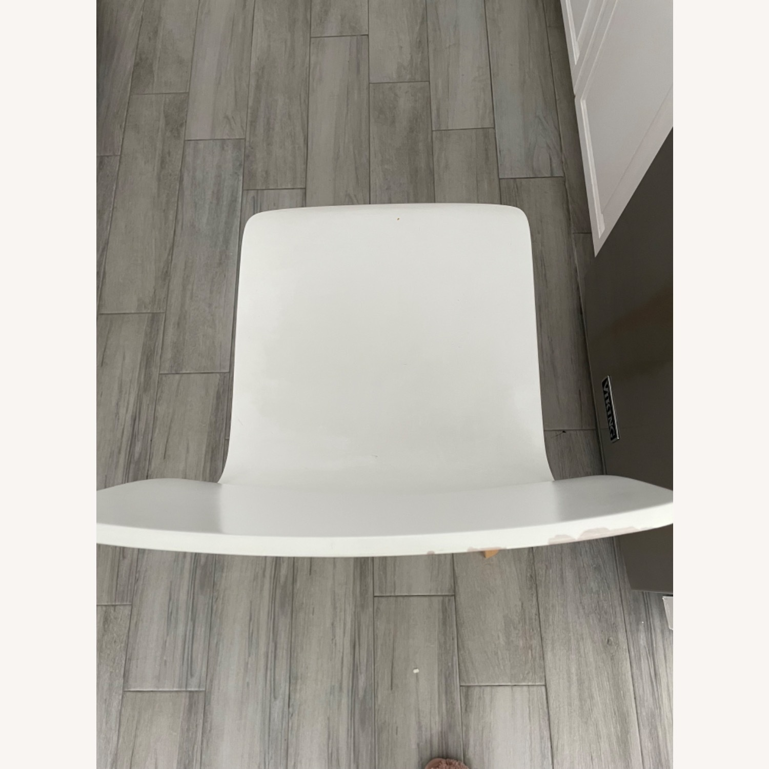 Anthropologie White Tamsin Dining Chairs (4) - image-4