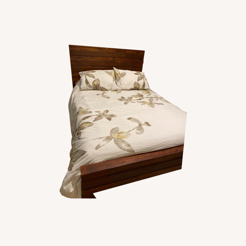 West Elm Full Bed - image-0