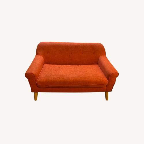 Used Christopher Knight Home Fabric Loveseat for sale on AptDeco