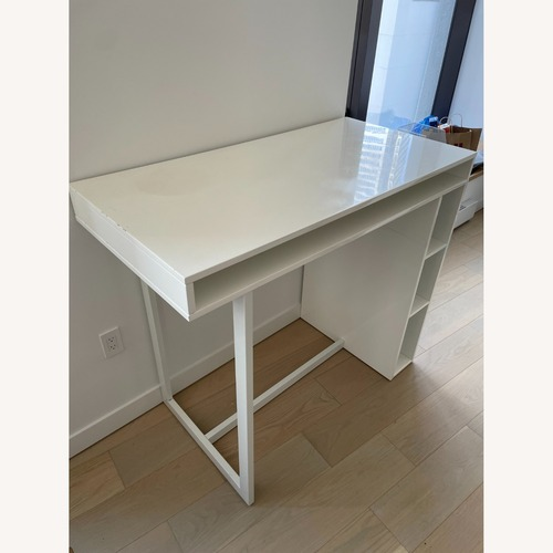 Used CB2 Public High Dining Table for sale on AptDeco