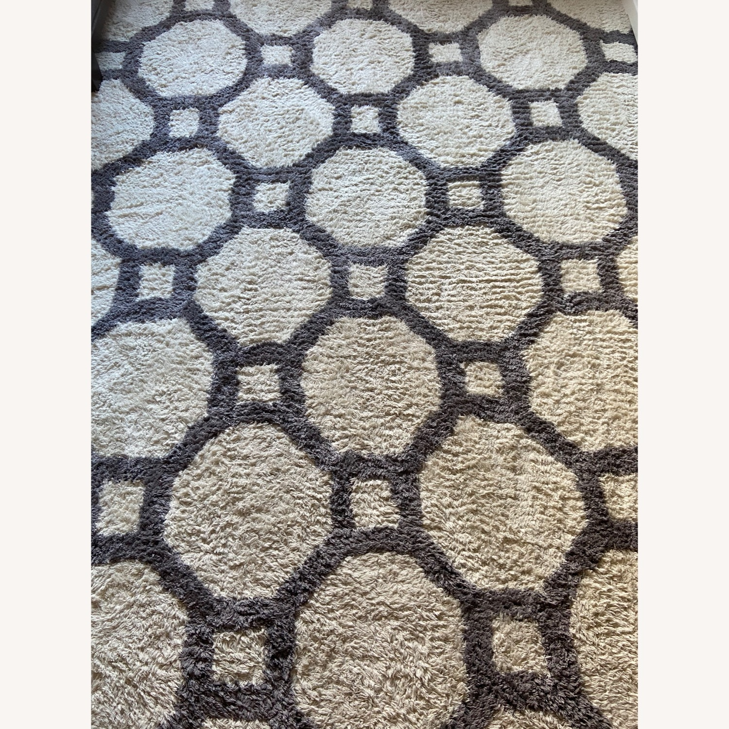 Gray and White Area Rug - image-2