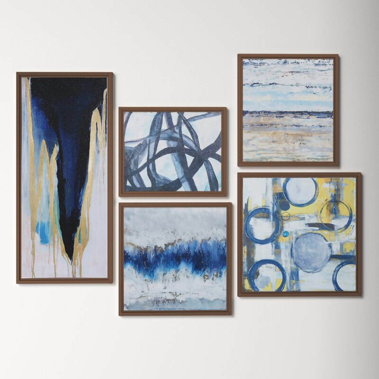 Wayfair Gallery Wall Set - Framed - image-2