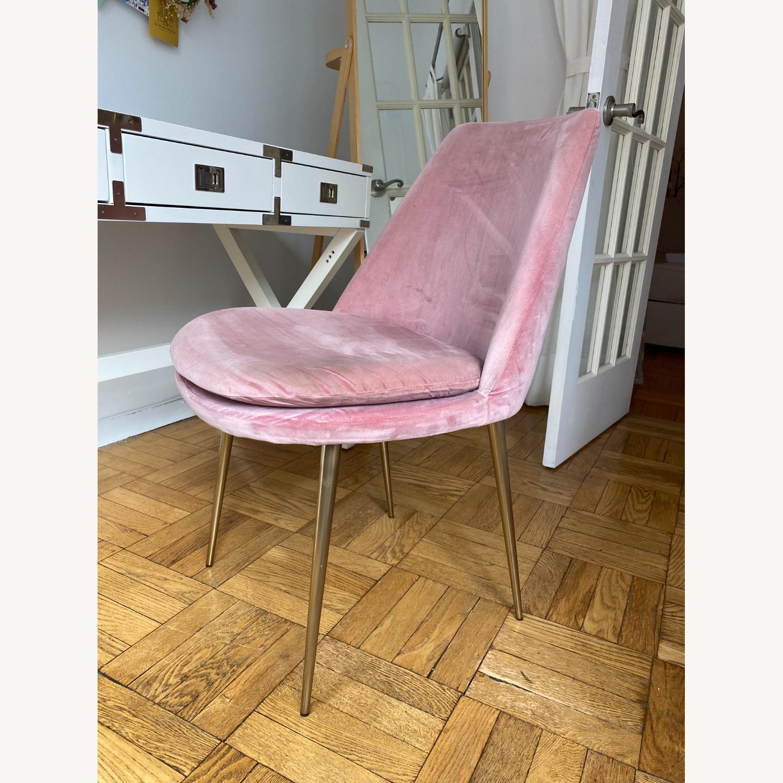 West Elm Velvet Chair - image-2