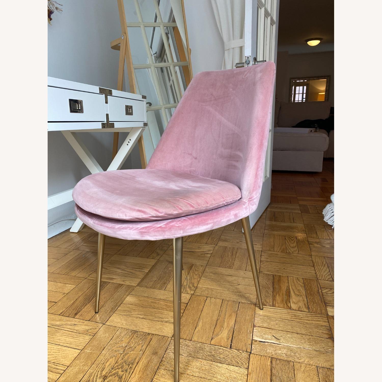 West Elm Velvet Chair - image-3