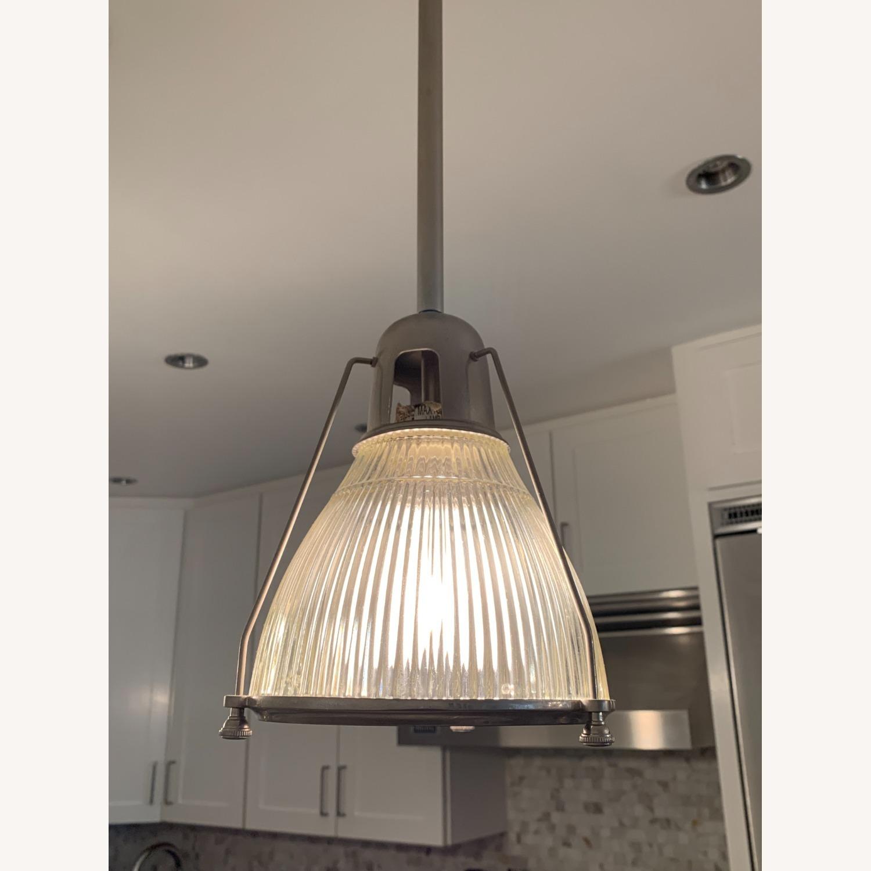 Brushed Nickel Pendant Lights (set of 3) - image-3