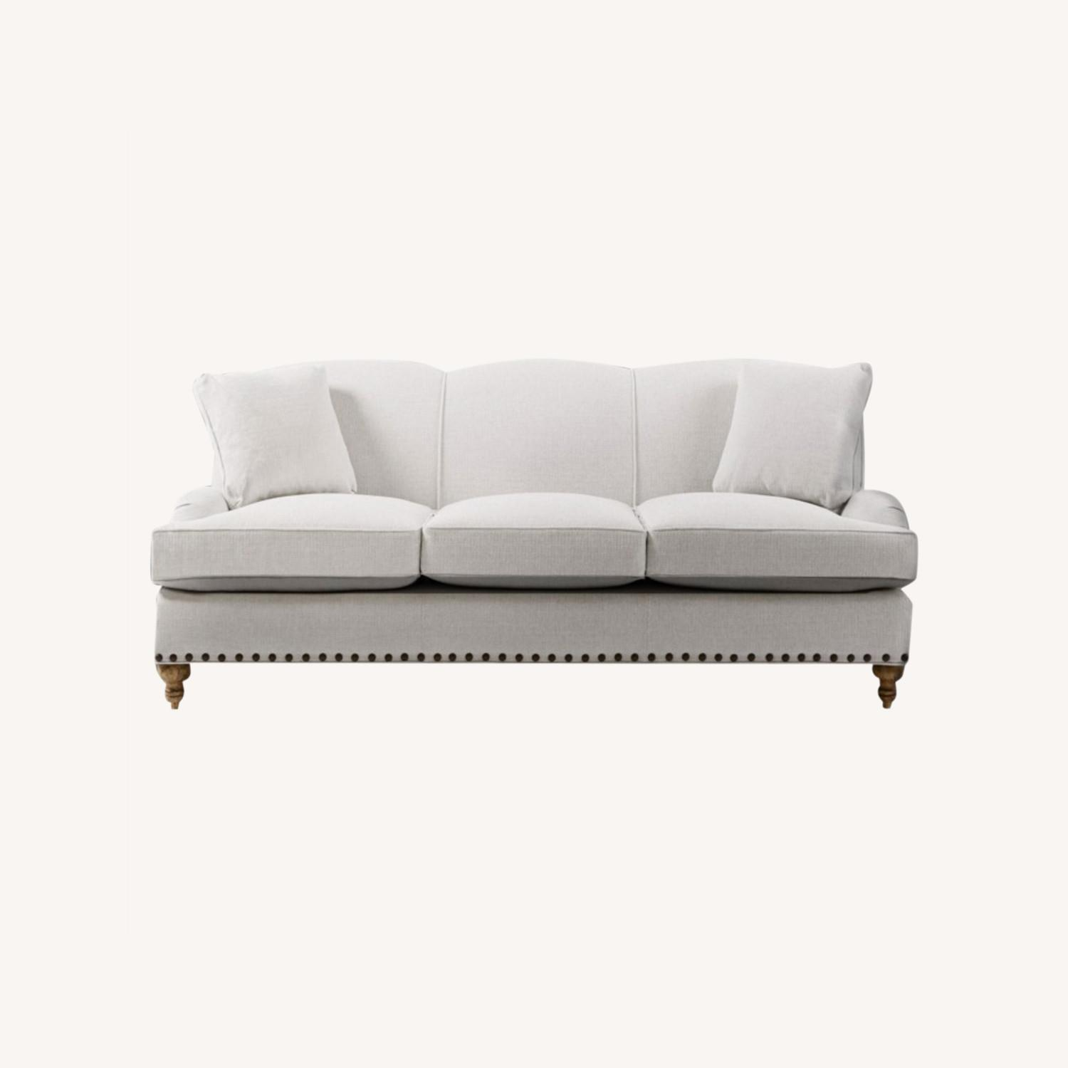 Arhaus White Couch - image-0