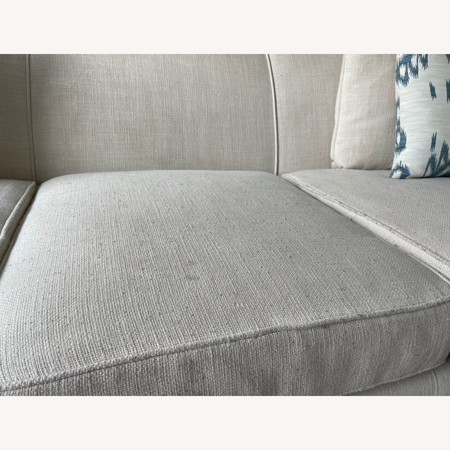 Arhaus White Couch - image-4