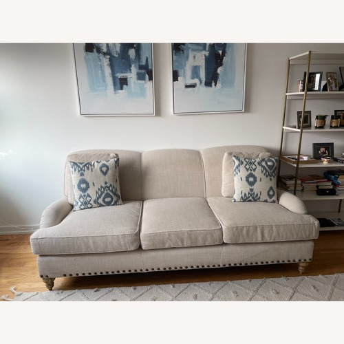 Used Arhaus White Couch for sale on AptDeco