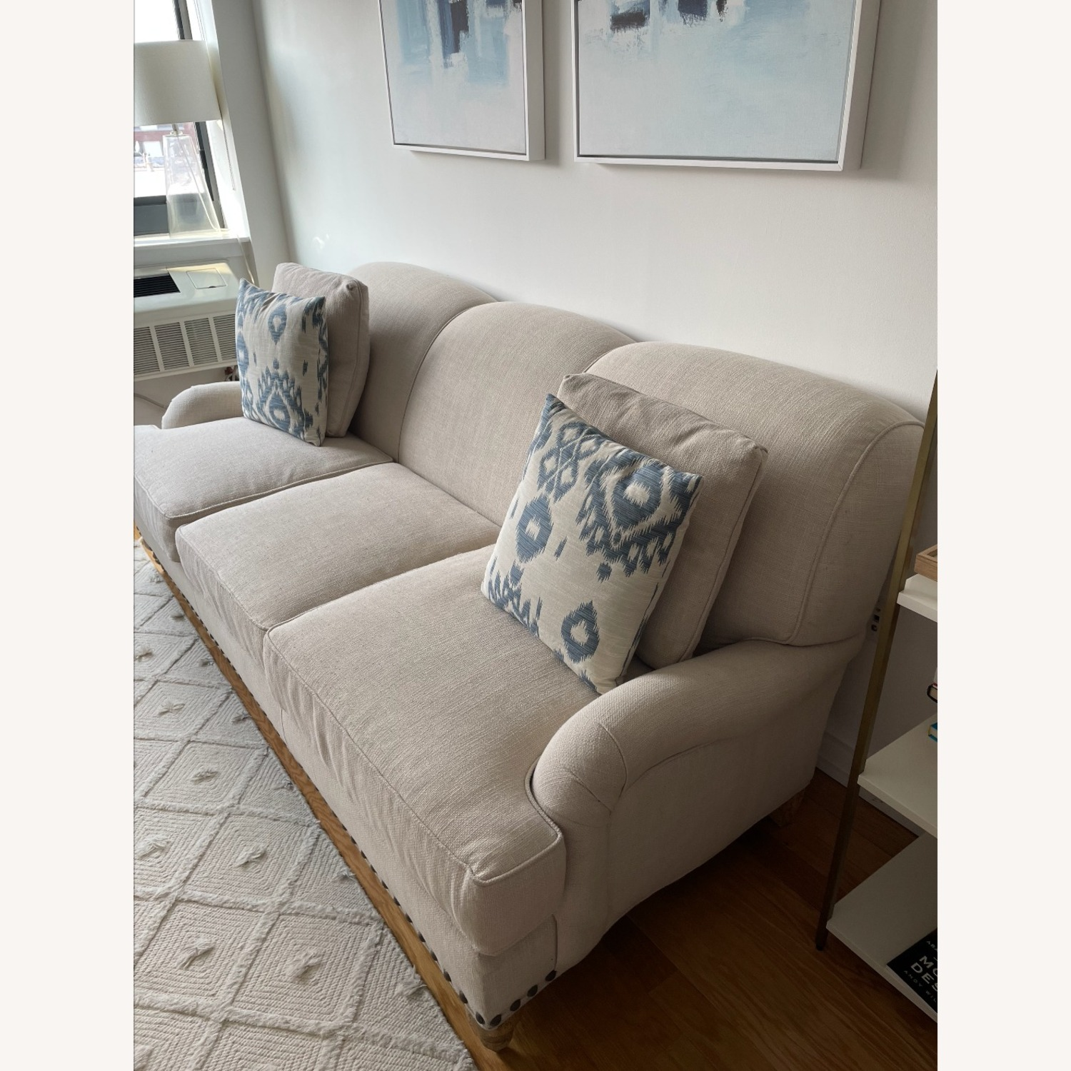 Arhaus White Couch - image-3