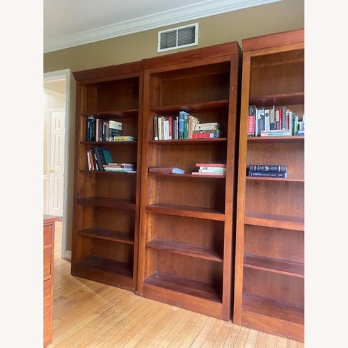 Used Ethan Allen Cherry Wood Book Shelves for sale on AptDeco