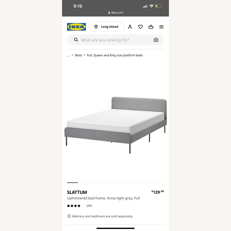 IKEA SLATTUM Bed - image-1