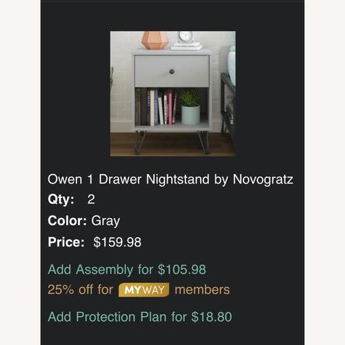 Used Owen 1 Drawer Nighstand by Novogratz for sale on AptDeco