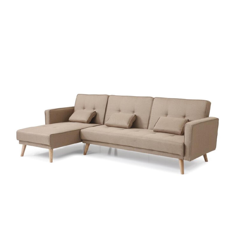 "Wayfair Easton 98.5"" Wide Reversible Sleeper Sofa & Chaise - image-5"