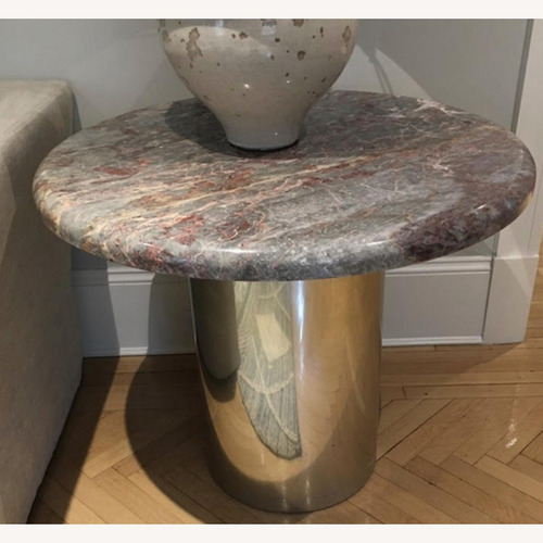 Used Vintage Marble-top Side Tables by Donghia for sale on AptDeco