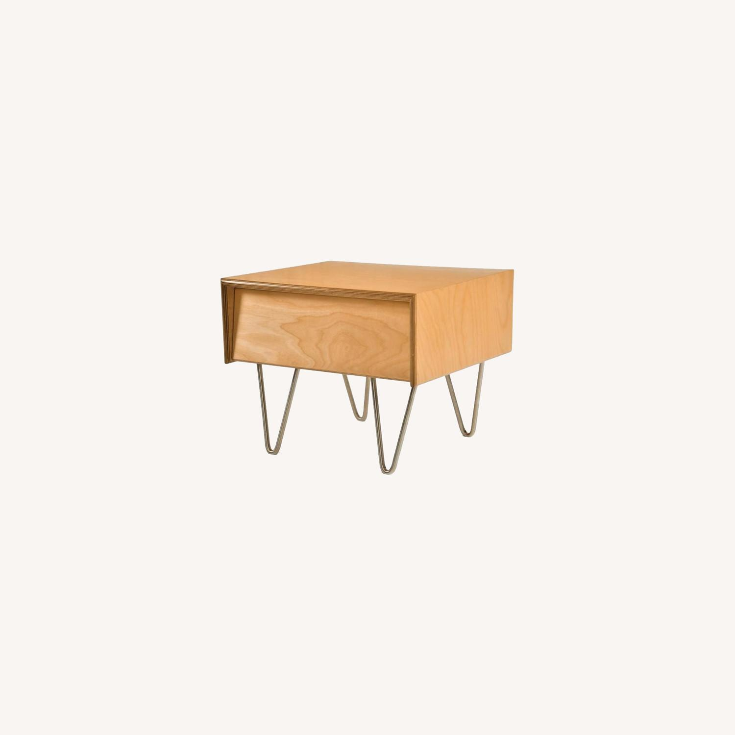 2x Modernica Case Study Nightstand Classic Stain - image-0