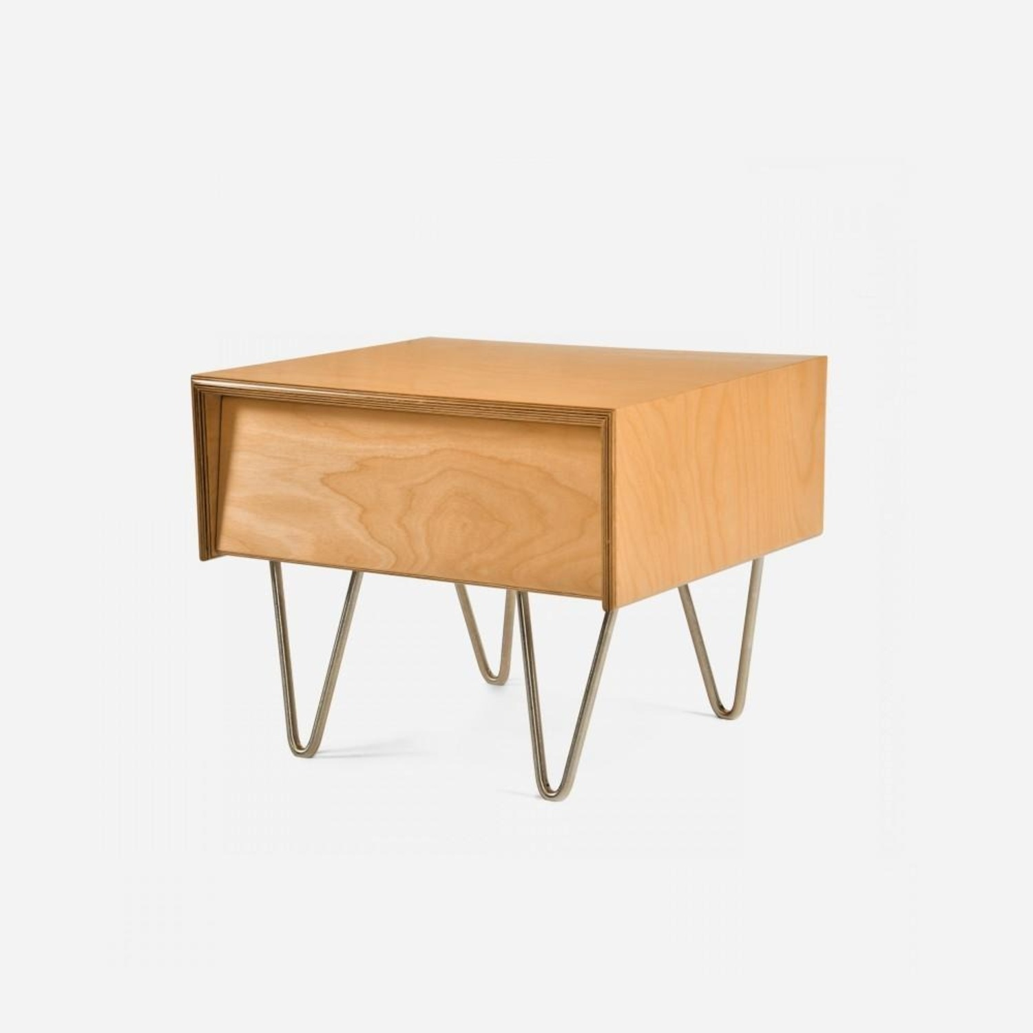 2x Modernica Case Study Nightstand Classic Stain - image-1