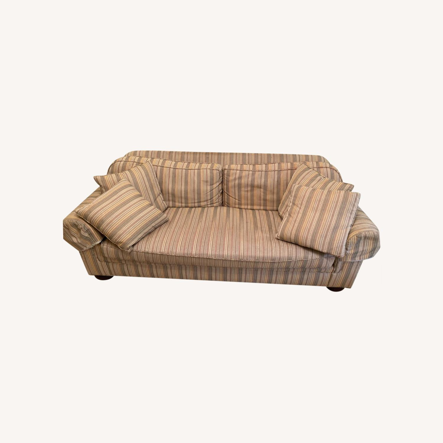 Stickley Brothers Furniture Well Made Designer Couch - image-0