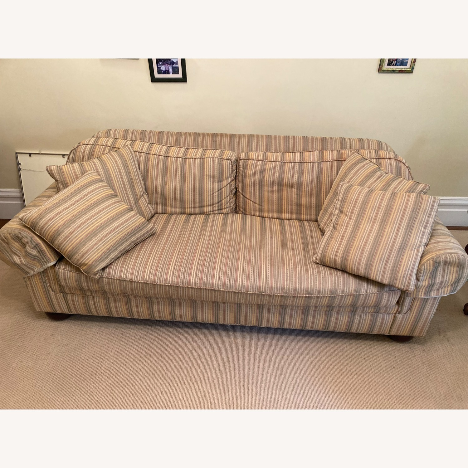 Stickley Brothers Furniture Well Made Designer Couch - image-1