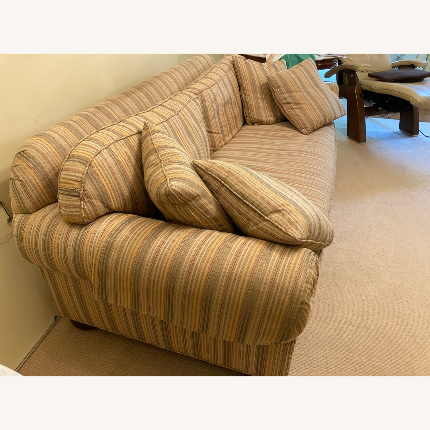 Stickley Brothers Furniture Well Made Designer Couch - image-3