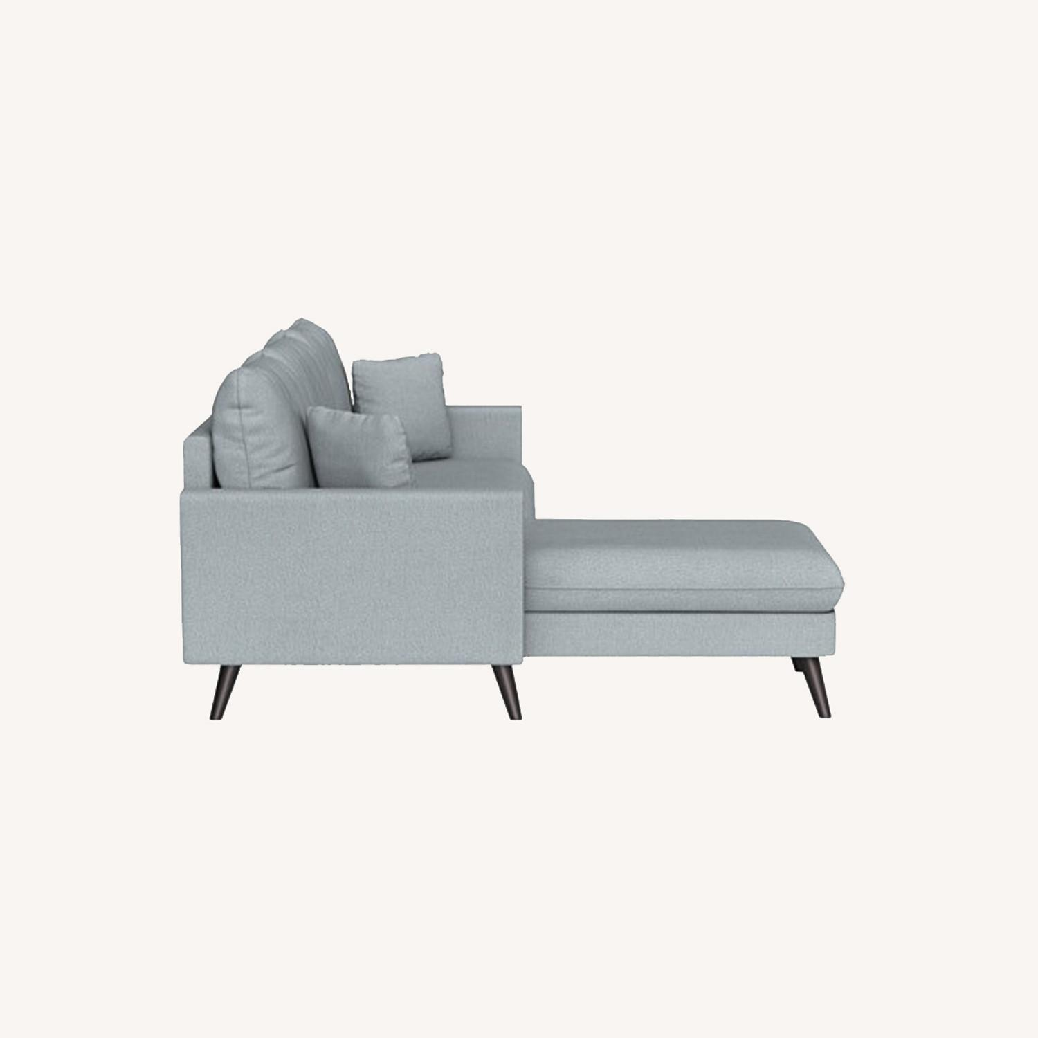 Inside Weather Custom Milo Sectional in Ash - image-0