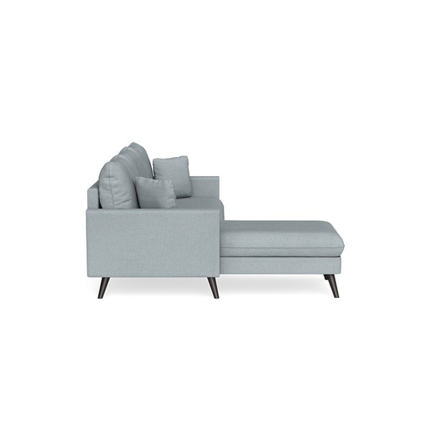 Inside Weather Custom Milo Sectional in Ash - image-2