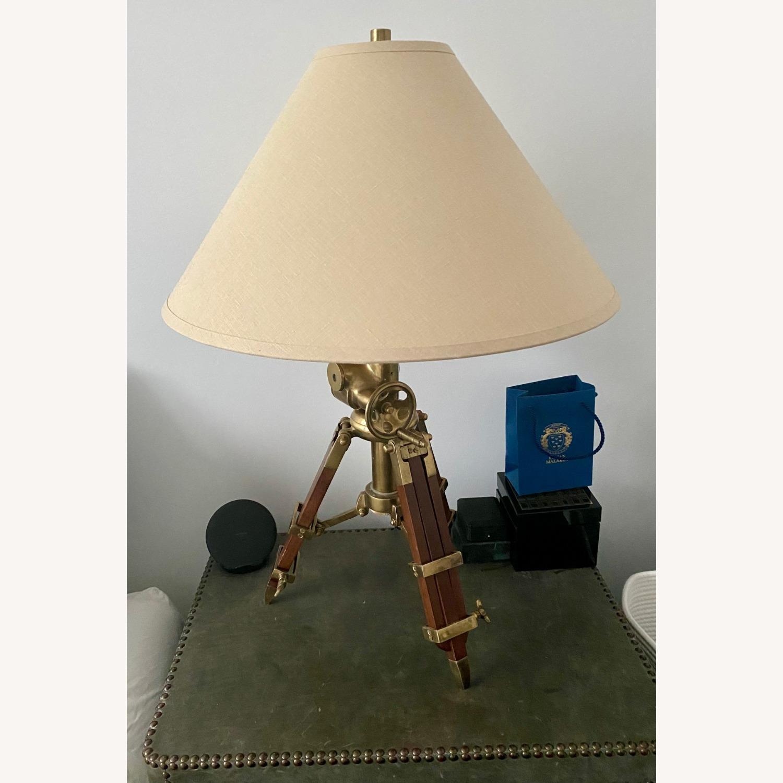Restoration Hardware Tripod Table Lamps - image-1