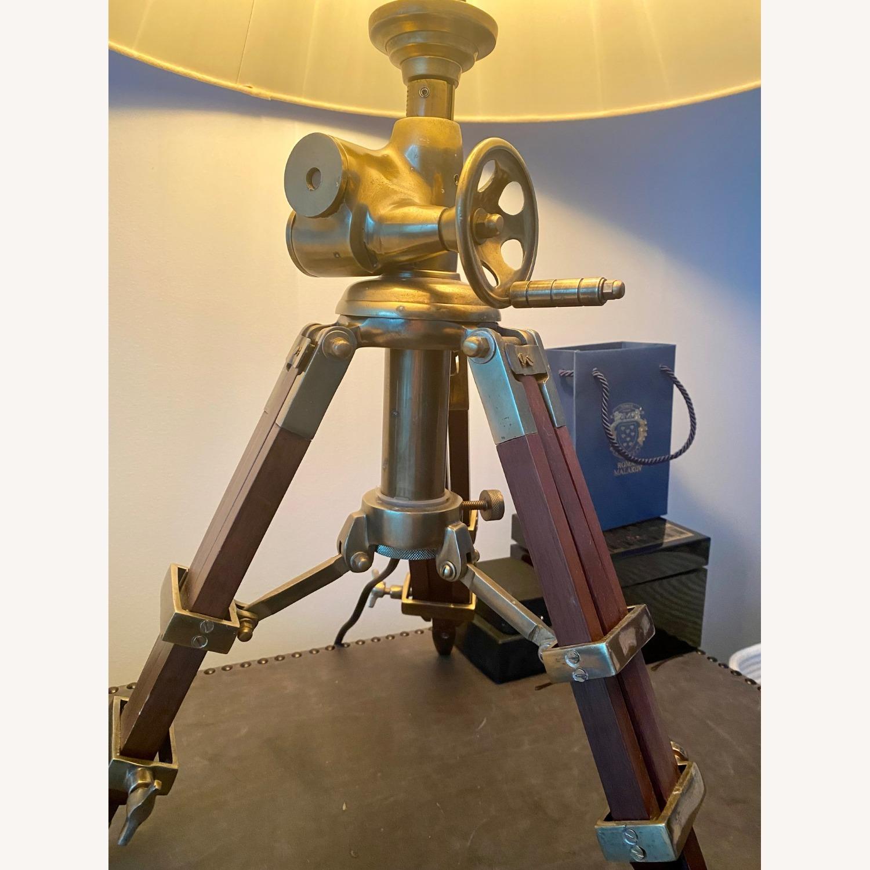 Restoration Hardware Tripod Table Lamps - image-2