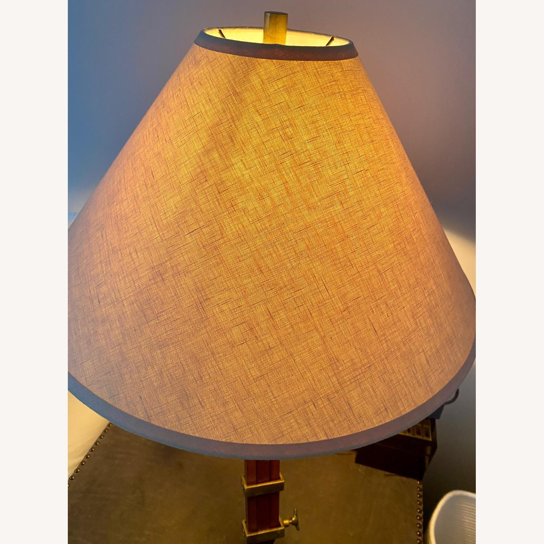 Restoration Hardware Tripod Table Lamps - image-5