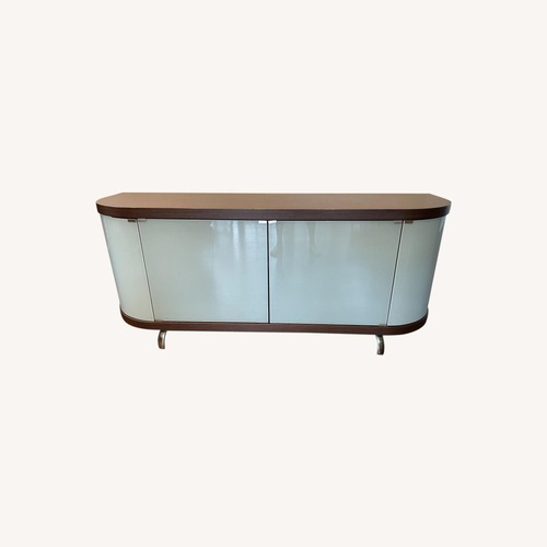 Used Callagaris Glass Front Sideboard for sale on AptDeco